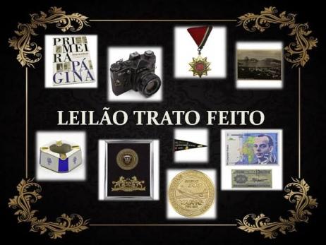 LEILÃO DE COLECIONAVEIS TRATO FEITO
