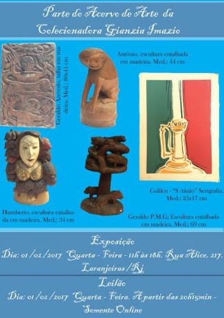 Parte do acervo da colecionadora Gianzia Imazio