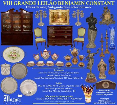 VIII Grande Leilão Benjamin Constant