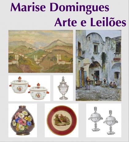 3º LEILÃO DE ARTE E ANTIGUIDADES MARISE DOMINGUES.