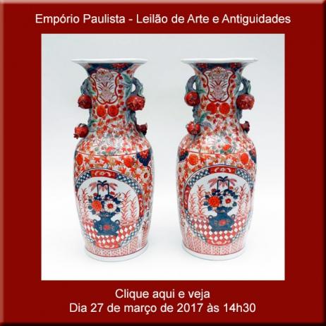 Empório Paulista - Leilão de Arte de Antiguidades - 27/03/2017