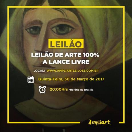 Leilão de arte 100% a Lance Livre
