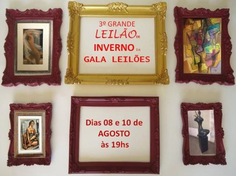 7º GRANDE LEILÃO DE ARTES DA GALA LEILÕES
