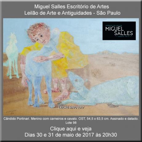 Miguel Salles Escritório de Artes - Leilão de Arte e Antiguidades - 30 e 31/05/2017