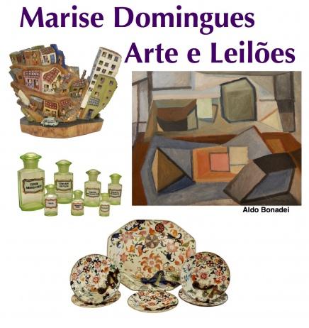 4º LEILÃO DE ARTE E ANTIGUIDADES MARISE DOMINGUES.