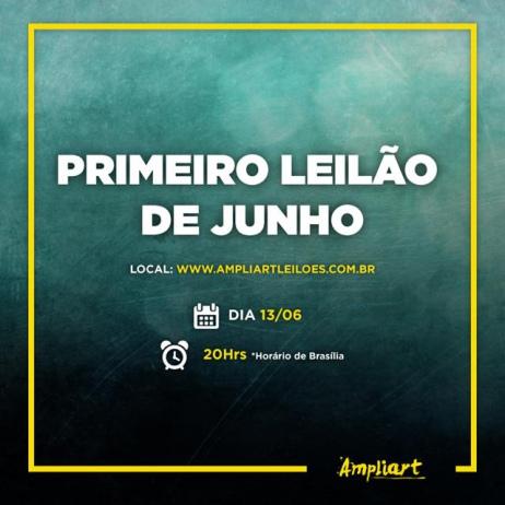 PRIMEIRO LEILÃO DE JUNHO