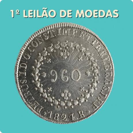 1º Leilão de Moedas da brasilmoedas.com.br - 7 e 8/08/2017