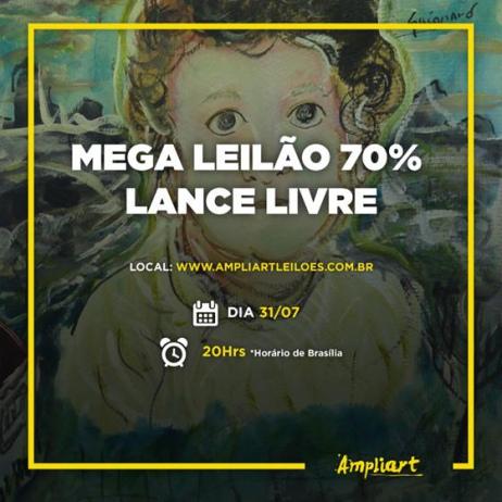 MEGA LEILÃO 70% LANCE LIVRE