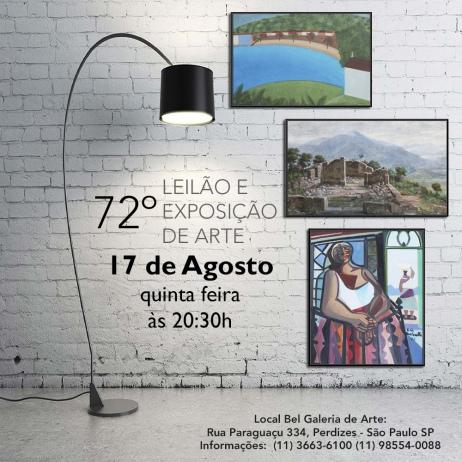72º Leilão Bel Galeria de Arte