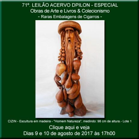 71º - Leilão Acervo DPilon - Obras de Arte e Livros & Colecionismo - Raras Embalagens de Cigarros