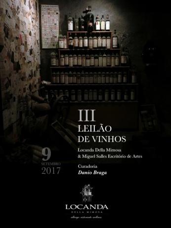 III LEILÃO DE VINHOS - CURADORIA DANIO BRAGA