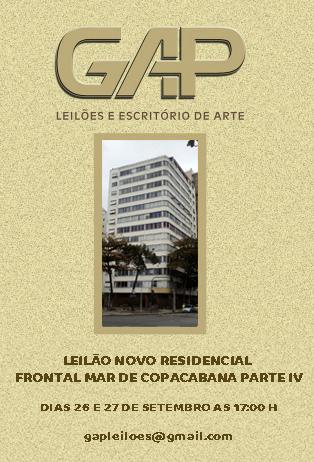 LEILÃO NOVO RESIDENCIAL FRONTAL MAR DE COPACABANA PARTE IV