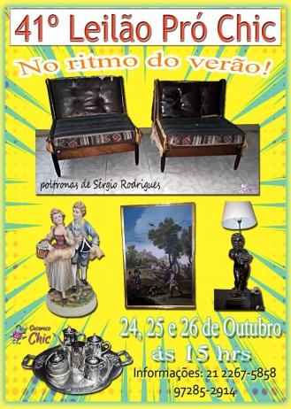 41º Leilão PRÓ CHIC - No Ritmo do Verão !!!