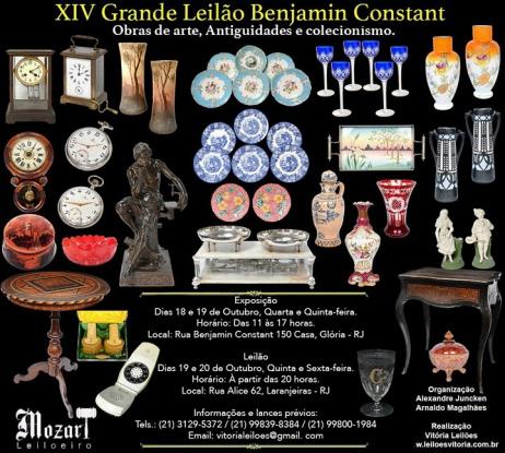 XIV GRANDE LEILÃO BENJAMIN CONSTANT