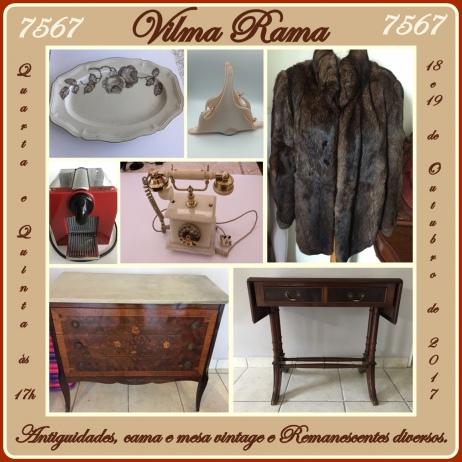 7567 - Leilão de Antiguidades, Cama e Mesa Vintage e Remanescentes Diversos.