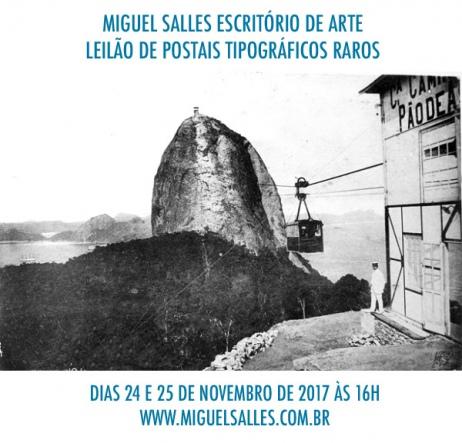 LEILÃO DE POSTAIS - MIGUEL SALLES