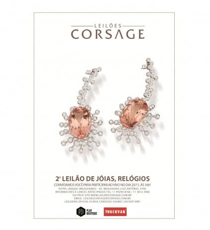 2º LEILÃO CORSAGE DE JÓIAS E RELÓGIOS - (11) 99290-8768