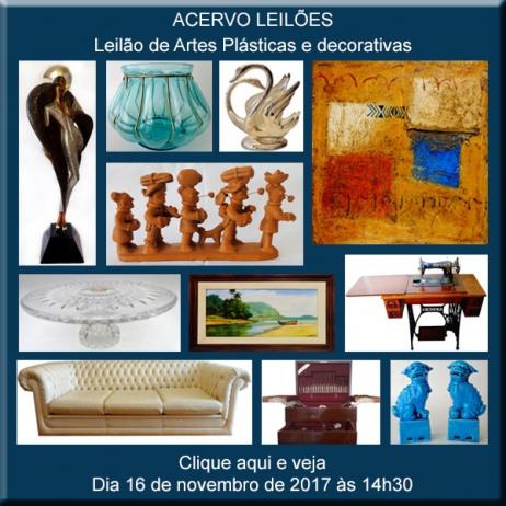 LEILÃO DAS BOAS COMPRAS nº 61 - ACERVO LEILÕES - SP - 16/11/2017