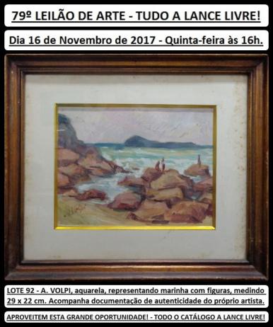 79º LEILÃO DE ARTE - TUDO A LANCE LIVRE!