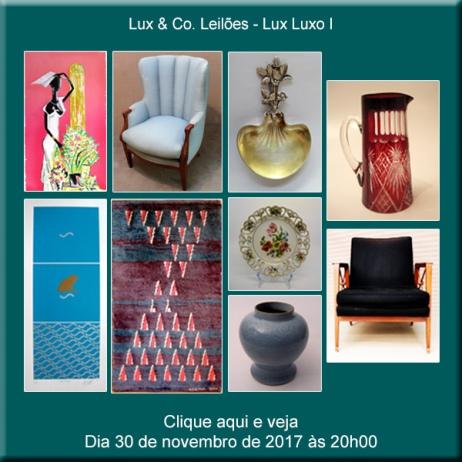 Lux & Co. Leilões - Lux Luxo I - 30/11/2017