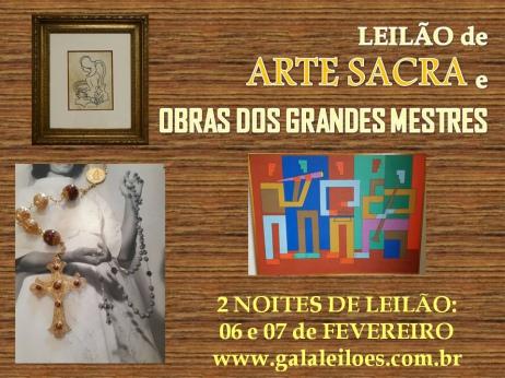 GRANDE LEILÃO NATAL com ARTES