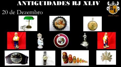 LEILÃO ANTIGUIDADES RJ XLIV