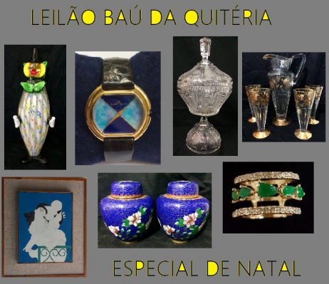 LEILÃO BAÚ DA QUITÉRIA- ESPECIAL DE NATAL