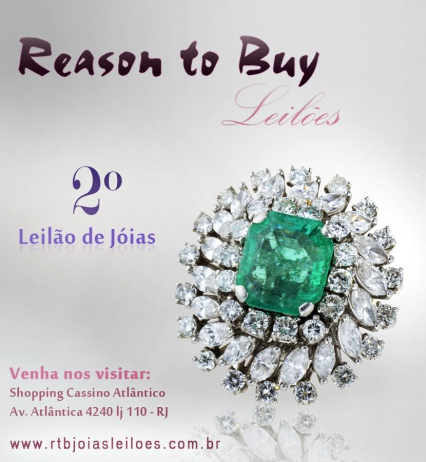 2º LEILÃO DE JOIAS REASON TO BUY