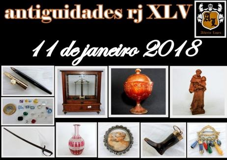 LEILÃO ANTIGUIDADES RJ XLV