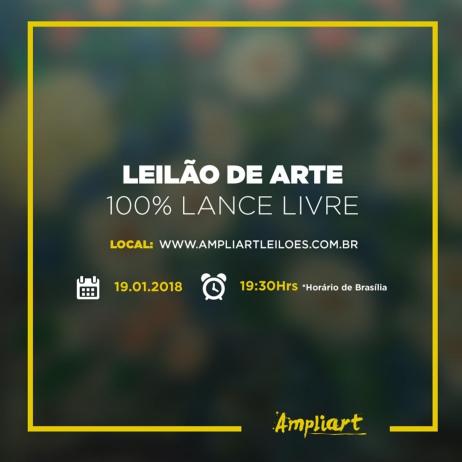 LEILÃO DE ARTE 100% LANCE LIVRE