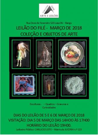 LEILÃO DO FILÉ - MARÇO DE 2018.