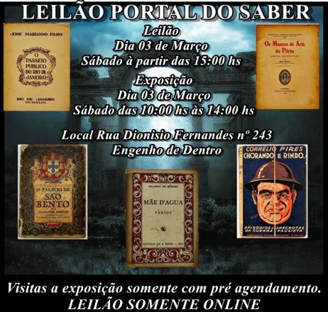 LEILÃO PORTAL DO SABER