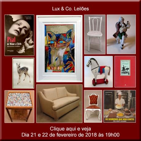 Lux & Co. Leilões - NAVEGAR É PRECISO!  Casa Vila Nova Conceição - 21 e 22/02/2018 - 19h00
