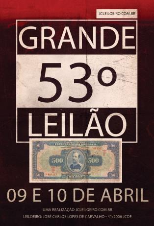 53º GRANDE LEILÃO DE COLECIONÁVEIS