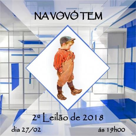 8454 - 2/18 - LEILÃO DE ARTE, ANTIGUIDADES, COLECIONISMO E DECORAÇÃO