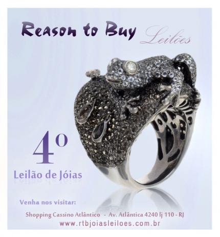4º Leilão de Jóias da Reason to Buy Joalheria