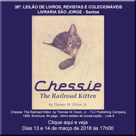 35º. Leilão de Livros, Revistas e Colecionáveis - Livraria São Jorge - Santos 13 e 14/03/2018