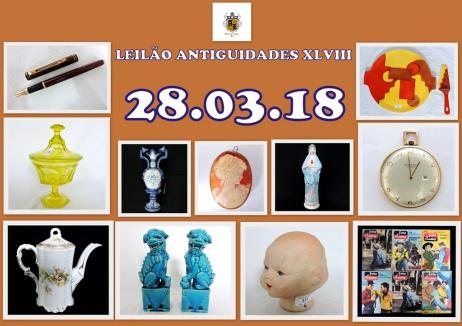 LEILÃO ANTIGUIDADES RJ XLVIII