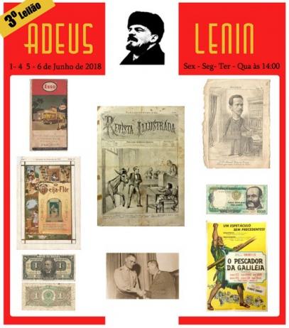 3º LEILÃO ADEUS LENIN  - COLECIONISMO.
