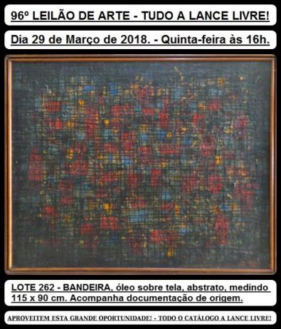 96º LEILÃO DE ARTE - TUDO A LANCE LIVRE!