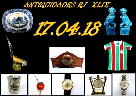 LEILÃO ANTIGUIDADES RJ XLIX