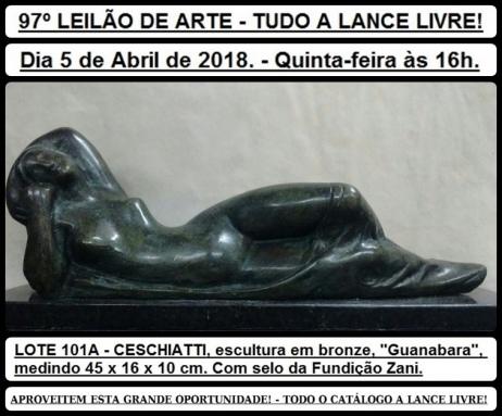 97º LEILÃO DE ARTE - TUDO A LANCE LIVRE!