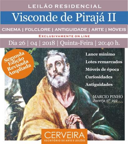 LEILÃO RESIDENCIAL VISCONDE DE PIRAJÁ II