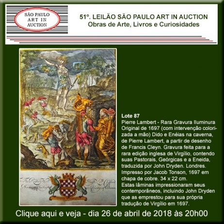 51º. Leilão SP Art in Auction - Especial de Abril - 26/04/2018