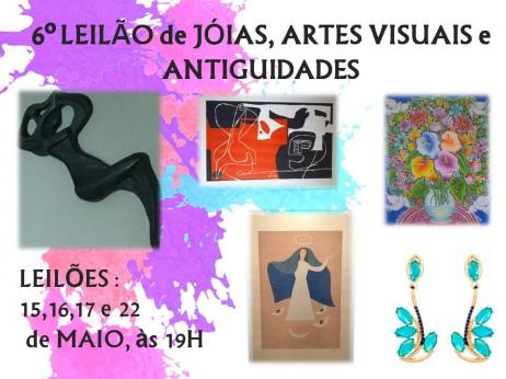 5º LEILÃO DE ARTES VISUAIS - EXCELÊNCIA EM ARTES E INVESTIMENTOS