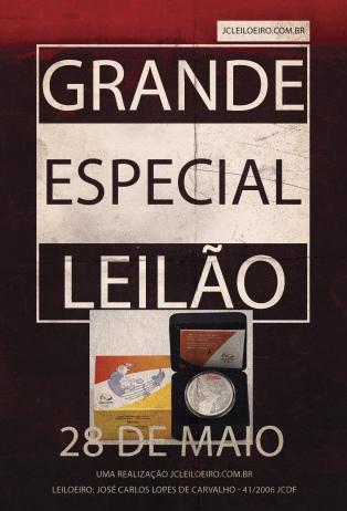 LEILÃO ESPECIAL DE NUMISMÁTICA