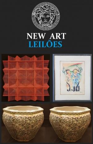 NEW ART LEILÕES - EDIÇÃO DE ABRIL