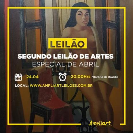 Segundo Leilão de Artes Especial de Abril