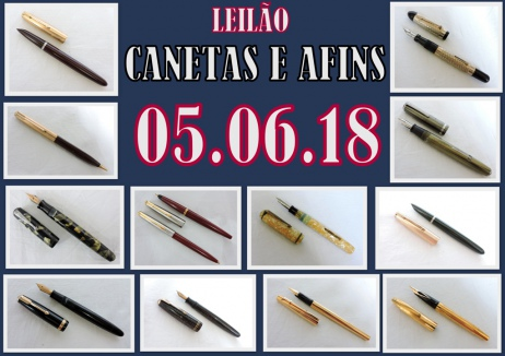LEILÃO DE CANETAS & AFINS