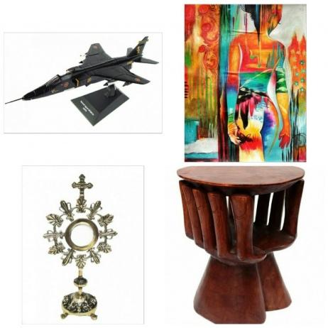 Sexagésimo leilão Belas artes e antiguidades